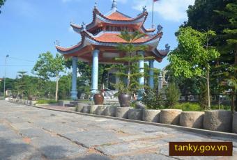 Hình ảnh đá cổ chùa Phúc Duyên thôn Nghi Khê xã Tân Kỳ