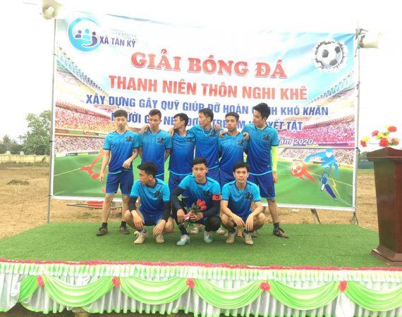 Xã Tân Kỳ – Giải bóng đá gây quỹ từ thiện – mừng Đảng, mừng Xuân Canh Tý 2020
