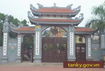 Hình ảnh chùa Phúc Duyên xã Tân Kỳ Hải Dương