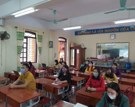 Trường tiểu học xã Tân Kỳ – Hội thảo trực tuyến giới thiệu SGK lớp 2 và lớp 6 sử dụng trong cơ sở giáo dục phổ thông năm học 2021-2022
